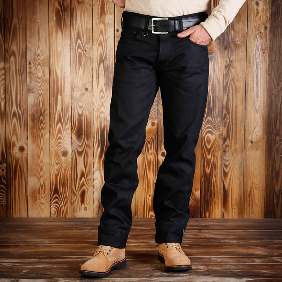 1963 Roamer Pant 13oz pitch black (byxor)