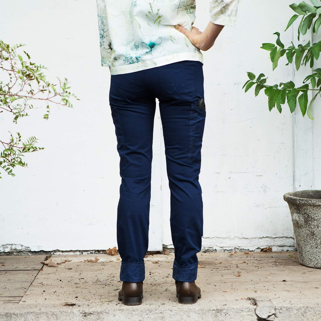 Astrantia Work trouser, Navy blue (arbetsbyxa)