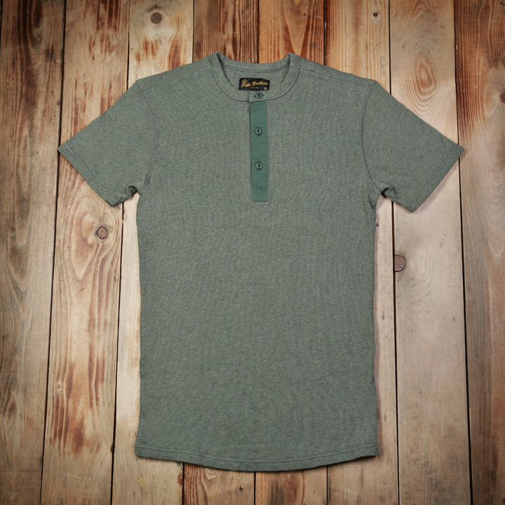 1954 Utility Shirt Short Sleeve oliv drab