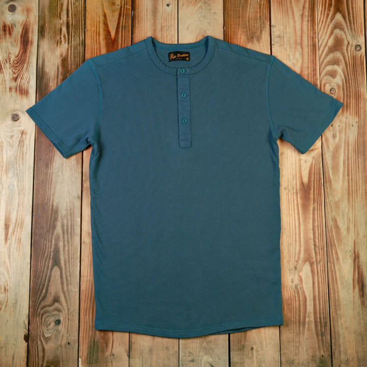 1954 Utility Shirt Short Sleeve Light Navy (tröja)