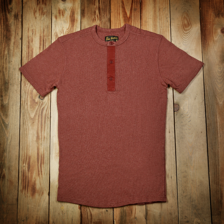 1954 Utility Shirt Short Sleeve Rusty Red (tröja)