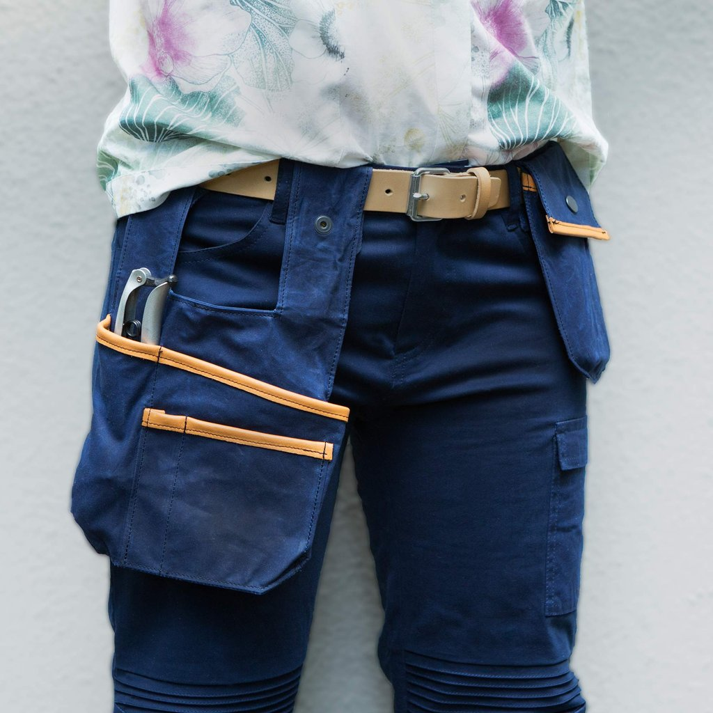 Sweet pea Tool Pockets and belt, Navy blue