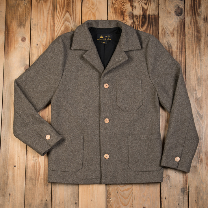 1937 Roamer Jacket grey wool (vadmalsjacka)